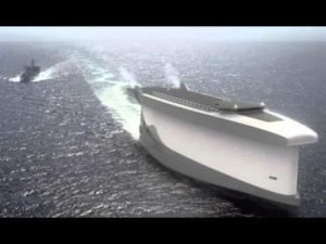 CNN News-'Vindskip' cargo ship uses its hull as a giant sail