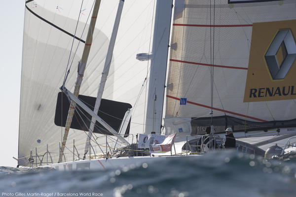 BWR - 2015 - Riechers - Chinese Gybe - Rudder Problem