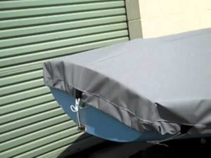 Finn Dinghy Cover Features by SLO Sail and Canvas (2015)