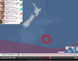Riechers - 2015 - Ruderschaden zwingt zur Reparatur in Neuseeland