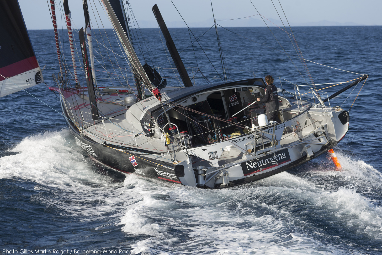 BWR - 2015 - Technical Pit Stop in South New Zealand for Second Placed Neutrogena
