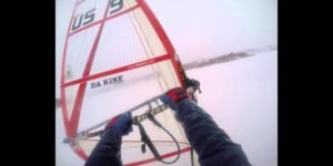 The Sayre Experience - Windsurfing on ice