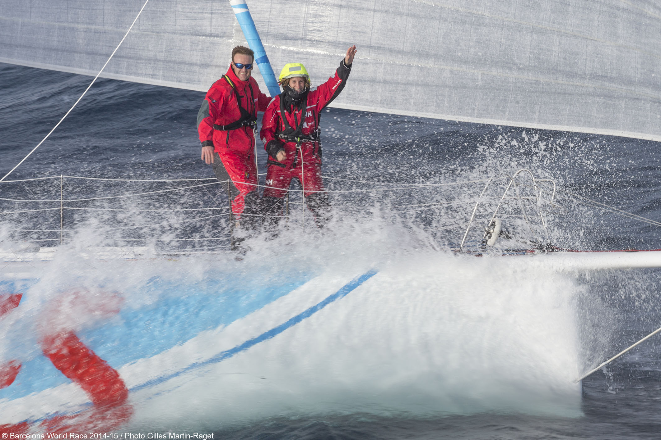 <b>BWR - 2015 - GAES Centros Auditivos round Cape Horn third</b>