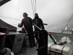 BWR - 2015 - Neutrogena crosses Cape Horn with 40 knots of wind