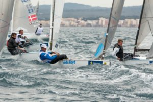 Finn - Jonathan Lobert survives up and down first day to lead Finns in Palma - 2015