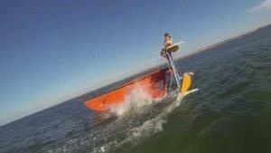 Hobie 16 Trick Sailing