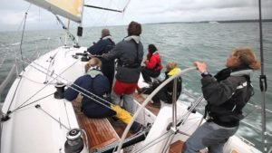 <b>How to avoid a Chinese gybe when sailing downwind</b>