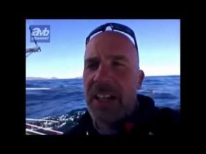 Regatta - BWR  2015 - Riechers in schwerem Sturm