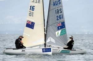 Andrew Murdoch leads Finn elite in Hyeres
