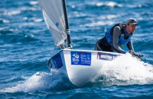 ISAF Sailing World Cup Hyeres - Giles Scott and Luke Patience on day two