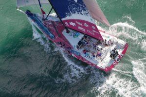 Live recording - Team SCA Itaja arrival | Volvo Ocean Race 2014-15