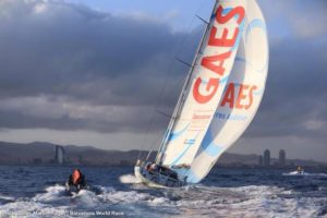 <b>Loud and Clear: Corbella and Mar­n are third in the Barcelona World Race 2014-15 on GAES Centros Aud...</b>