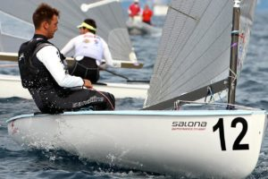 <b>Regatta - Finn EM 2015 - Was segelt der Führende</b>