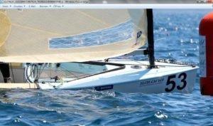 Womit segelt Deniss Karpak - Gewinner der 4.  und 7. EM-Wettfahrt