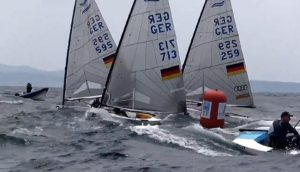 Regatta - Finn EM 2015 - Split - Tag 4 - Starkwind-Videos