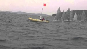 Regatta - Finn EM 2015 - RACE 5 Start - war das in Ordnung ?