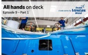 Regatta: Vestas Wind - bald wieder unter Segeln