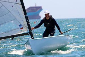 Regatta - Finn Junior Worlds - Kistanov (RUS) strebt das Double an