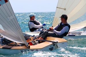 Regatta - Finn Junor World Cup in Valencia eröffnet
