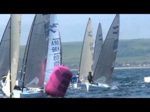 Sail for Gold 2015 - Weymouth - Finn Race 4, 5 u. 6