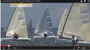 <b>Regatta - Travemünder Woche 2015 - Tag 4 - Finn-Finaltag</b>