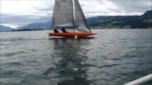 Auch Monohulls können fliegen - Quant 23 auf dem Zurichsee