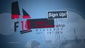 Regatta - F18 World Championship Kiel 2015 - Trailer