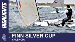 Regatta - Finn Junioren WM 2015 - Valencia - Tag 5