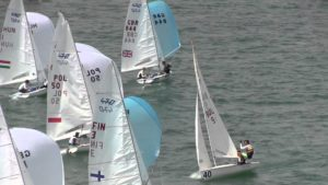 <b>420 & 470 Junior European Championships - Day 1</b>