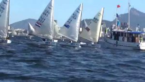Regatta - Finns day 1 & 2 at the Aquece Rio 2015 Test Event