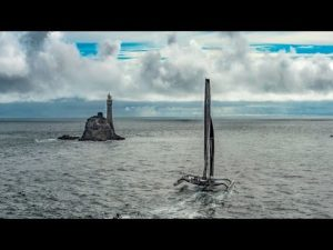 Rolex Fastnet Race 2015 - Approaching the Fastnet rock - 17 August