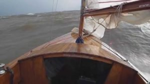 Sailing extreme, Dragon to high speed,13.5 kn. Rio De La Plata