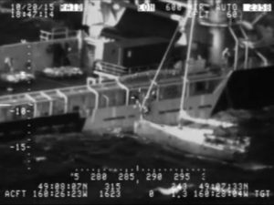 Man, Cat Rescued from Sailboat off Alaska