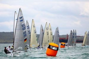 Finn Gold Cup 2015 - Takapuna - Day 2 - Video-Update