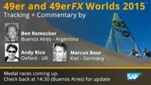 <b>49er Worlds 2015 - Das Medal-Race der Maenner</b>