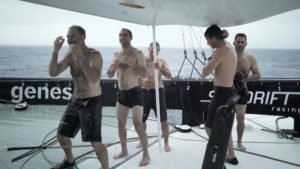 <b>Jules Verne Trophy - Day 5 - L'Equateur - The equator</b>