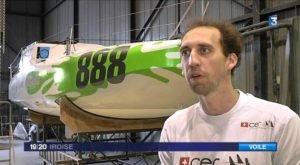 Mini 6.50 - Eight Cube - Scowbug mit Flügeln