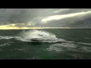 Ocean Eagle 43 - Trimaran Patrol Vessel Sea Trial