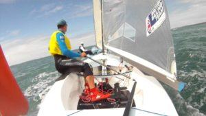 Finn - So segeln die Besten der Welt (Starten, Wenden, Halsen, Pumpen etc.)