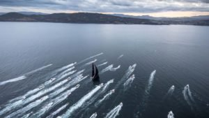 <b>Rolex Sydney Hobart Yacht Race - Line Honours for Comanche - 28 Dec 2015</b>