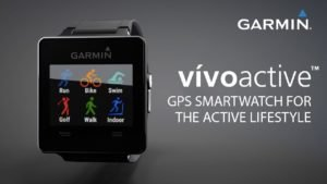 Garmin vívoactive™: GPS Smartwatch for the Active Lifestyle
