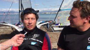 <b>Bundestrainer Thomas Rein (49er) und Max Groy (49erFX) über die Quali für Rio 2016</b>