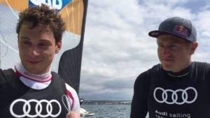 Thomas Plößel und Erik Heil (49er) schaffen Quali für Rio 2016