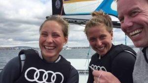 Victoria Jurczok und Anika Lorenz (49erFX) schaffen Quali für Rio 2016