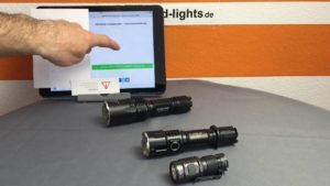 Vorsicht bei Hochleistungs-LED-Taschenlampen