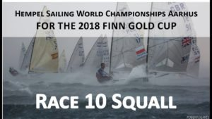 <b>Race 10 Squall during the 2018 Finn Gold Cup</b>