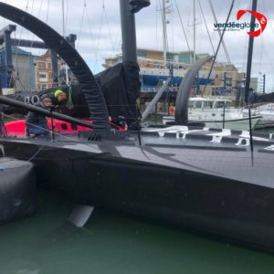 The foils of Alex Thomson Racing's new IMOCA have been unveiled... and they are huge! 😲