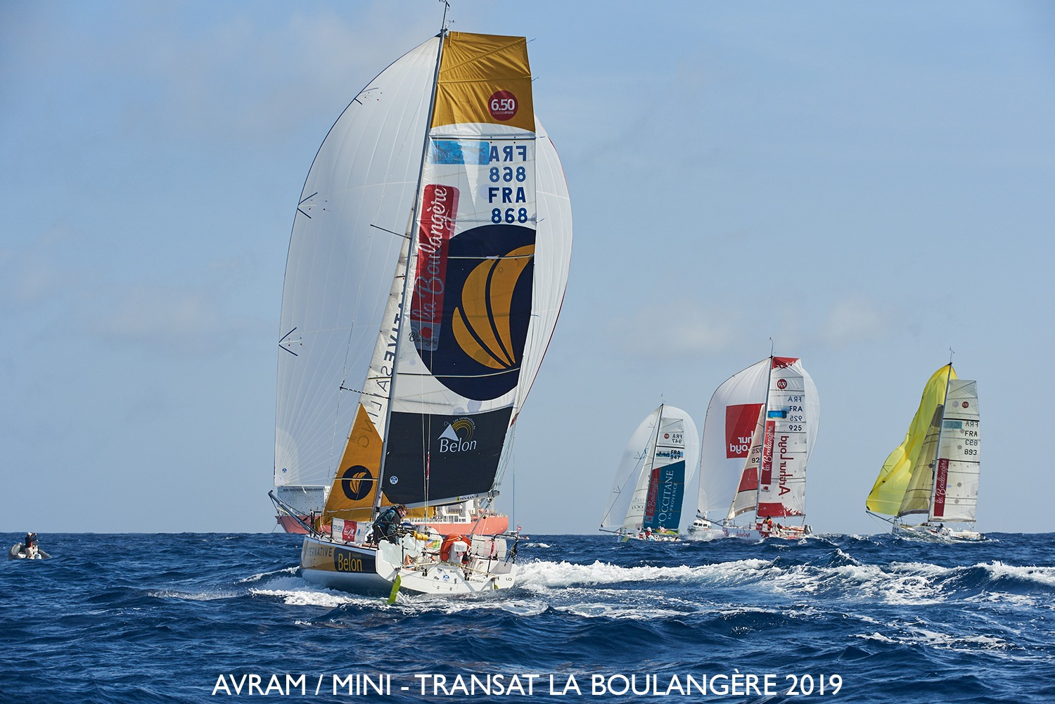 Mini-Transat 2019 -  Morten Bogacki hat ein Problem