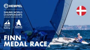 <b>Full Finn WM Medal Race | Aarhus 2018 - Super-Video</b>