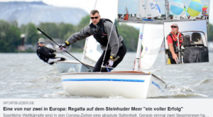 Eine von nur zwei in Europa: Regatta auf dem Steinhuder Meer ein voller Erfolg